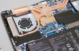 Asus TIF A15 FA506IU - SDD near heatpipe