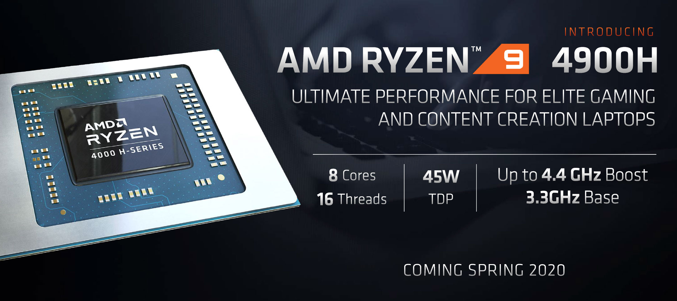 AMD Ryzen 9 4900H processor