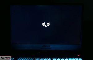Asus TUf Gaming A15 FA506IV - light bleeding