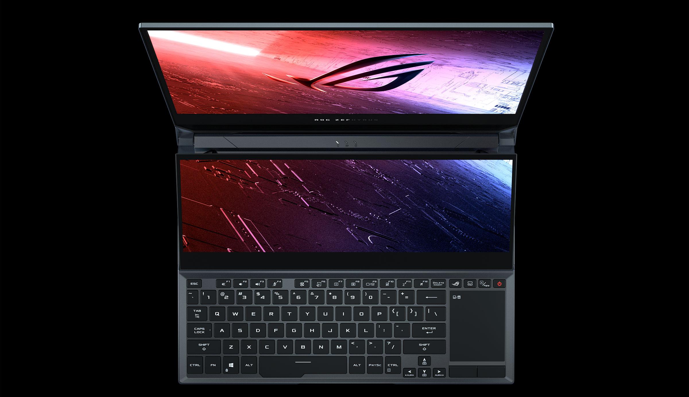 Asus ROG Zephyrus Duo GX550 keyboard