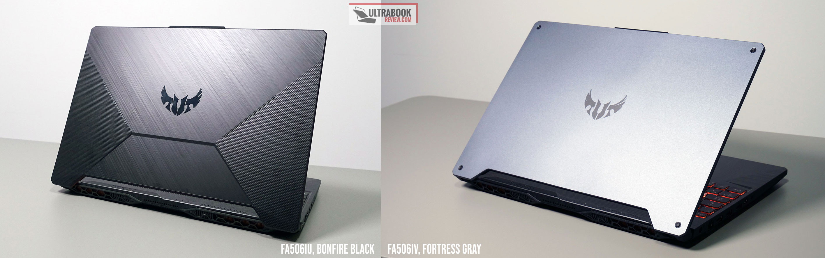 Asus TUF A15 versions - Bonfire Black vs Fortress Gray