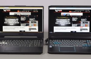 Asus TUF A15 vs Acer Predator Helios 300 - design