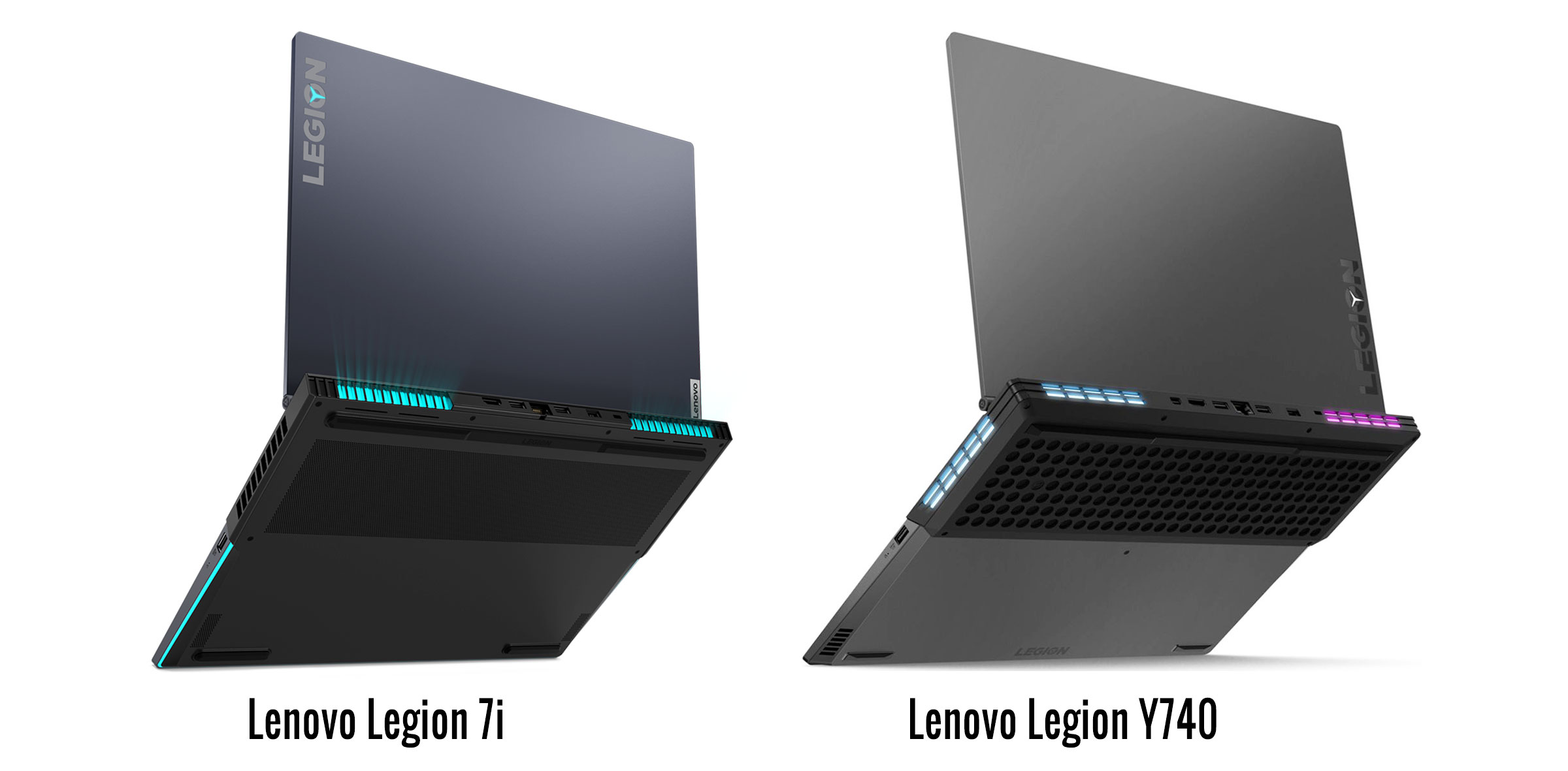 Lenovo Legion 7i vs Legion Y740 series