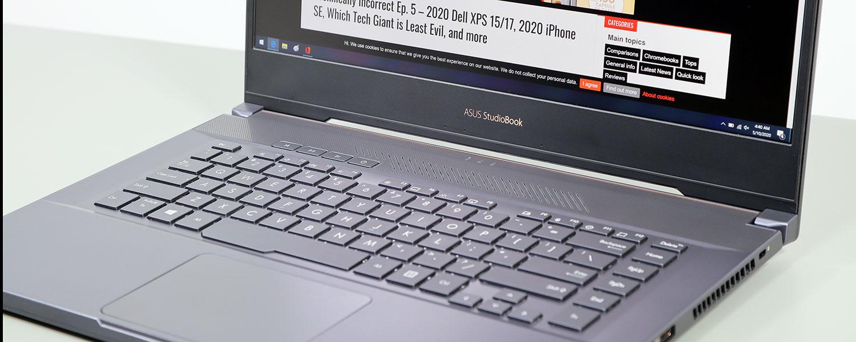 ASUS ProArt StudioBook Pro 15 review (W500G5T – Core i7, RTX Quadro 5000 80W)
