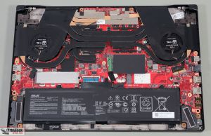 Asus Zephyrus M15 - internals and dissasembly