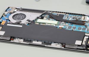 ZenBook 14 UM433 - speakers, battery