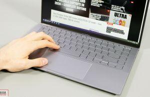 Asus ZenBook 14 UM433IQ - keyboard