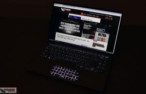 Keyboard illumination and clickpad