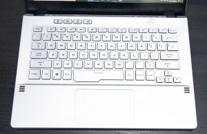 Zephyrus G14 keyboard- Mirage White