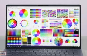 Asus ZenBook 14 UM433IQ - screen colors