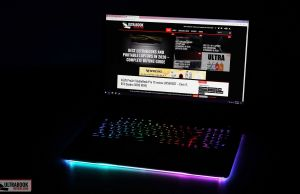 Asus ROG Strix SCAR 17 - illumination