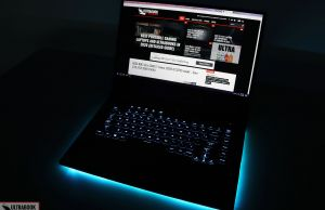 Asus ROG Scar 15 - keyboard illumination
