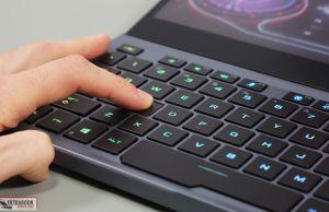 Asus Zephyrus Duo keyboard stroke