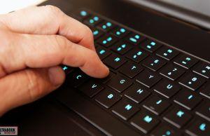 keyboard stroke