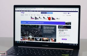 Vivobook S14 - screen bezel