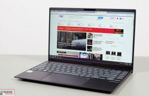 Asus ZenBook 14 UX425JA screen bezels