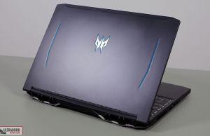 Acer Predator Helios 300 - exterior design