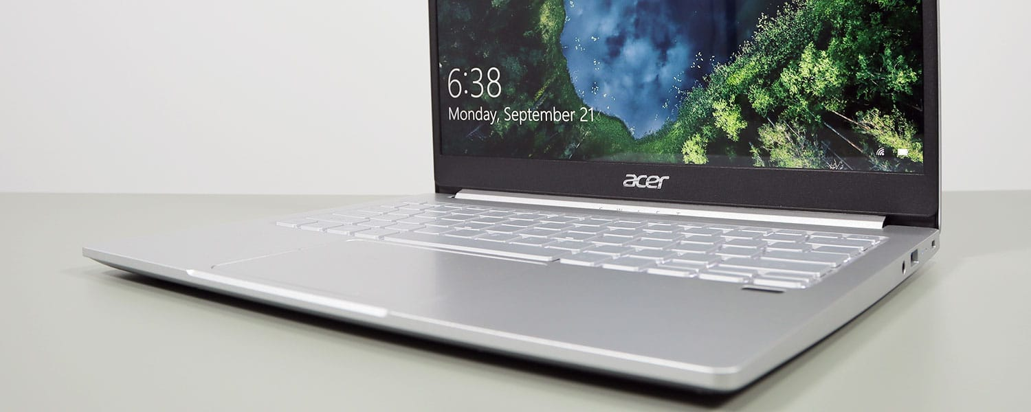 Acer Swift 3 SF313-53 review (2020 – Tiger Lake hardware and 3:2 display)
