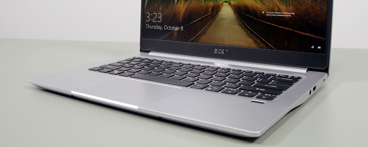 Acer Swift 3 14 SF314-59 review (late-2020, Intel Tiger Lake)