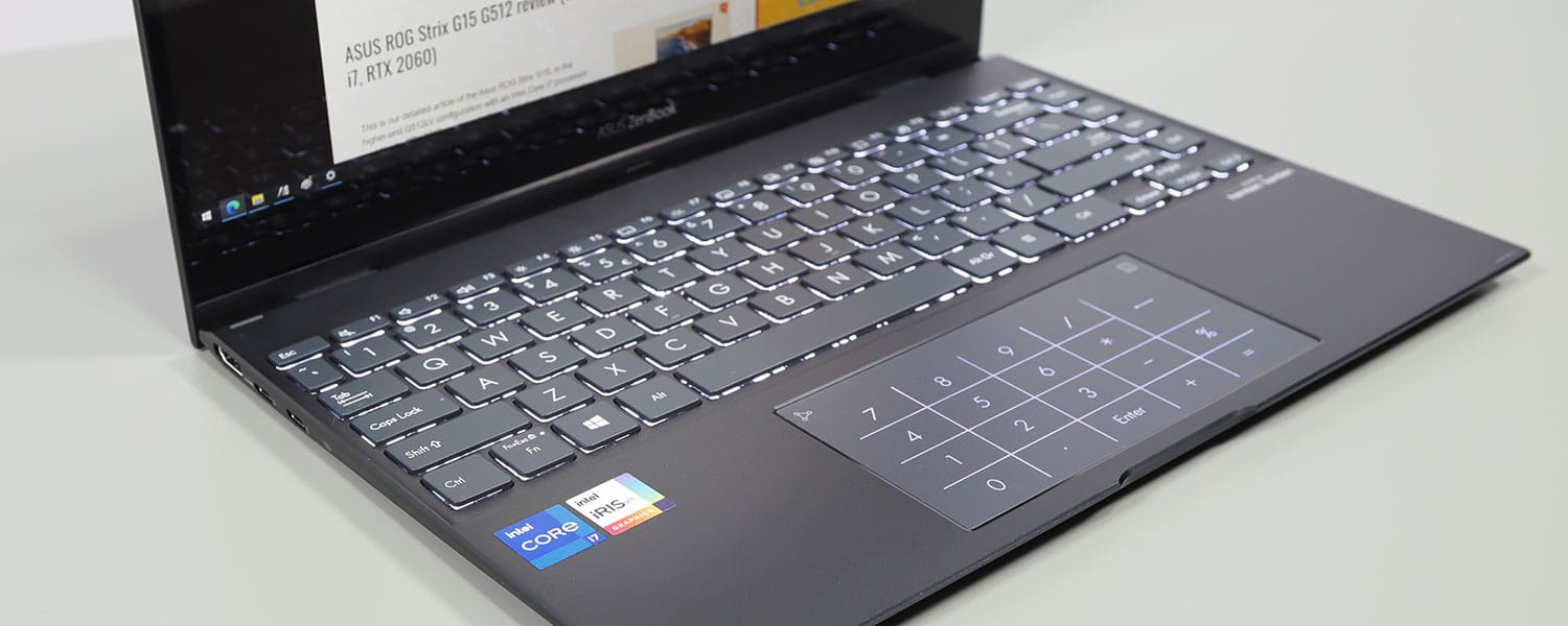 ASUS ZenBook Flip 13 UX363EA review (Core i7-1165G7 Tiger Lake, 2-in-1 touchscreen)