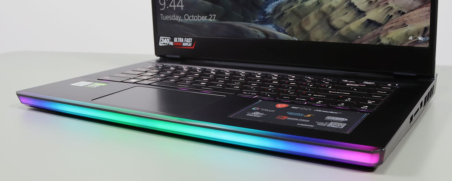 MSI GE66 Raider gaming laptop review (Core i9, RTX 2080 Super)