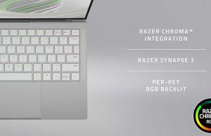 Razer Book 13 - RGB keyboard
