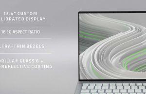 "Razer Book 13 - 13.4"" inch 16:10 display"