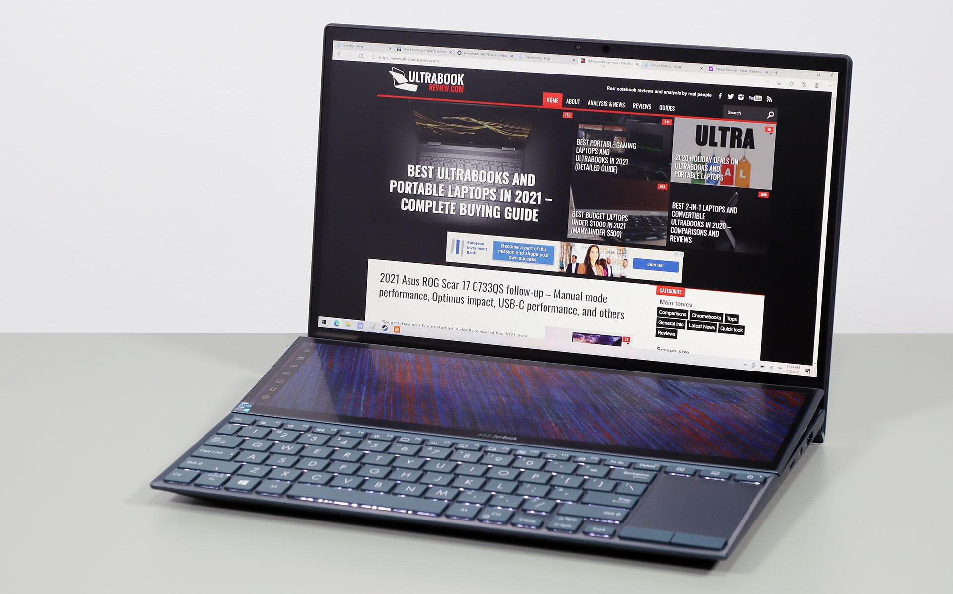 Asus ZenBook Duo 14 UX482 - review