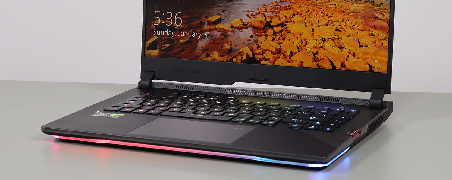 ASUS ROG Strix SCAR 15 G533QS review (2021 model – Ryzen 9 5900HX, RTX 3080 Laptop)