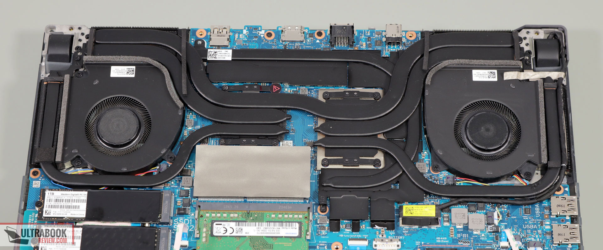 ROG Scar 15 cooling