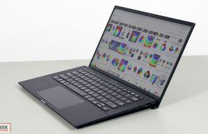 Asus ExpertBook B9 B9400 - keyboard and clickpad