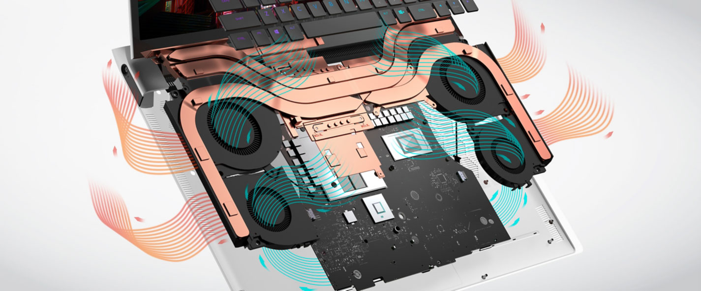Alienware X15 and X17 - thermal module