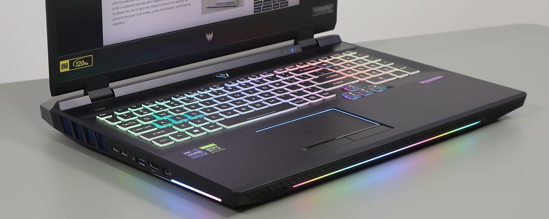Acer Predator Helios 500 review (2021 PH517-52 model – i9-11980HK, RTX 3080, mini LED 4K)