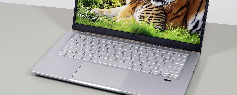 Acer Swift X 14 SFX14-41G review (performance ultrabook, AMD Ryzen + RTX)