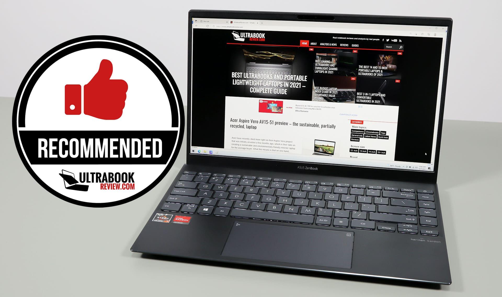 Asus ZenBook 14 UM425QA review
