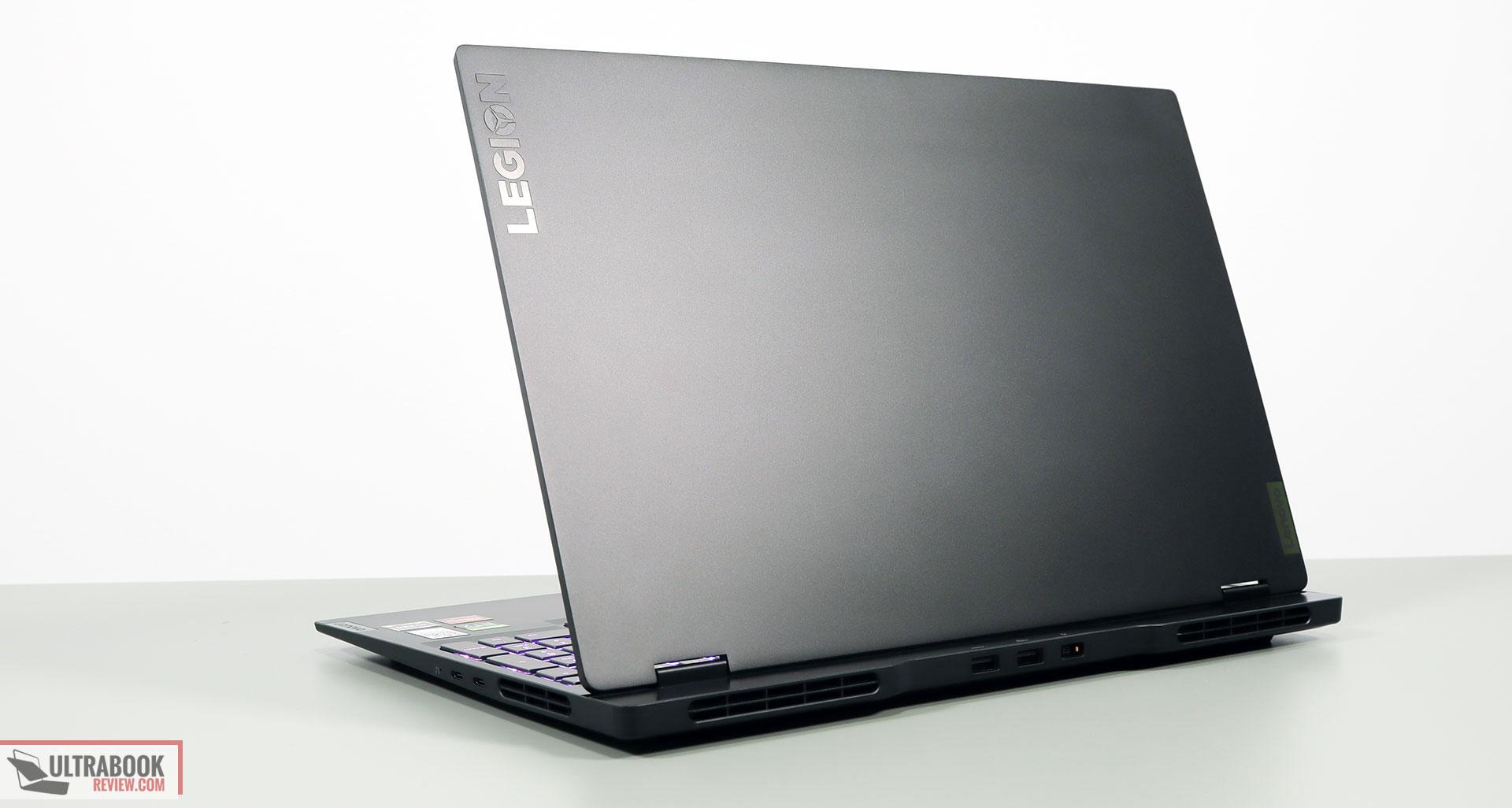 Lenovo legion Slim 7 review - exterior design