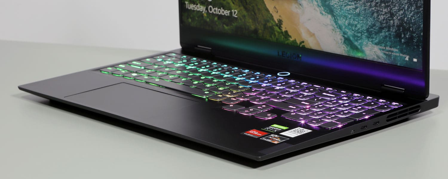 Lenovo Legion Slim 7 review (15ACH6 with AMD – all-around ultraportable)